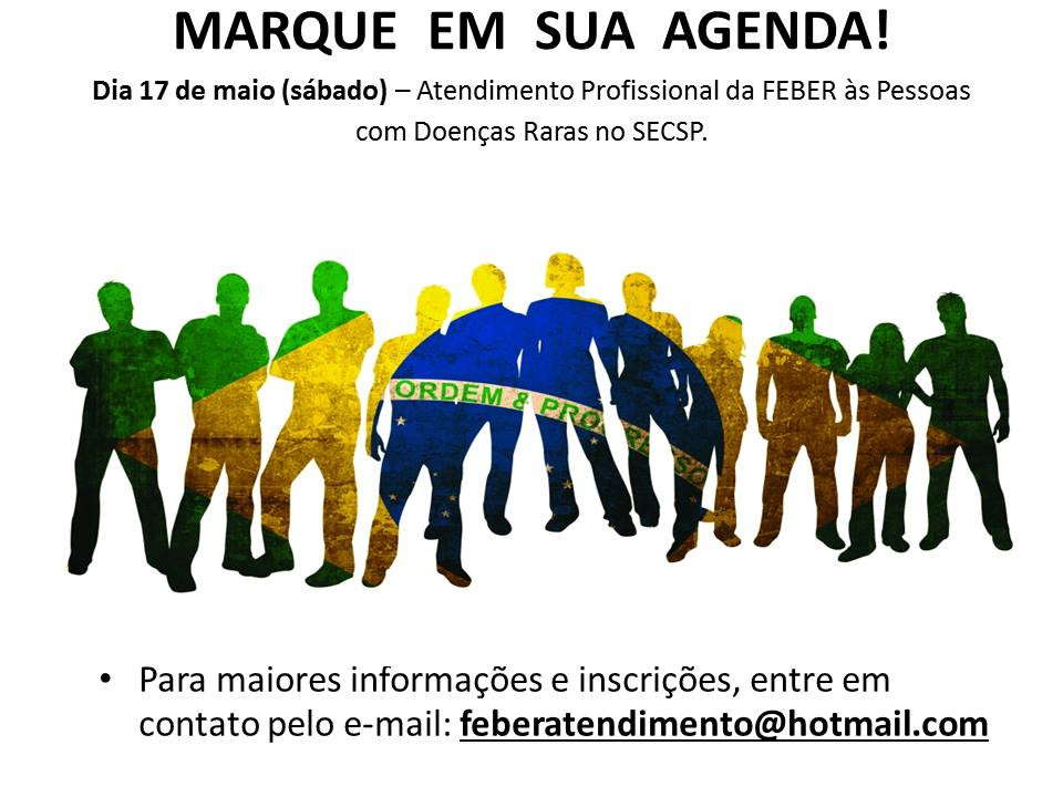 Atendimento Profissional da FEBER às Pessoas com Doenças Raras no SECSP.