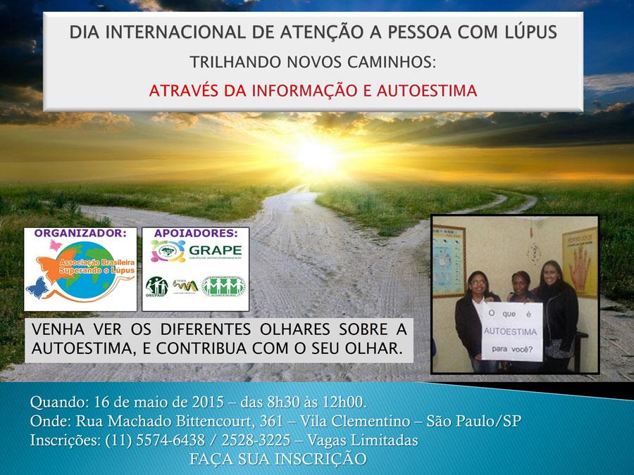 DIA INTERNACIONAL DE ATENÇÃO A PESSOA COM LÚPUS